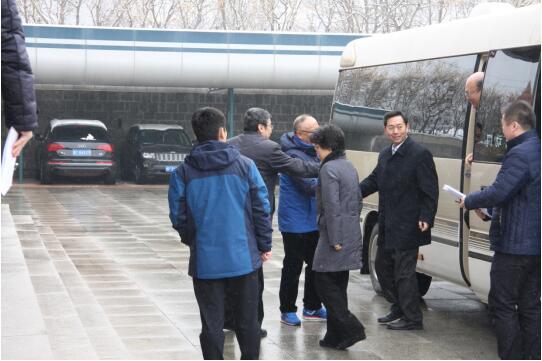 烟台市长张永霞,副市长金志海炼、王晓军一行来到
